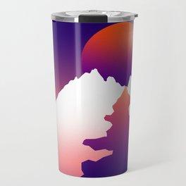 Spilt moon Travel Mug