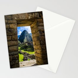 Doorways of Machu Picchu Stationery Cards