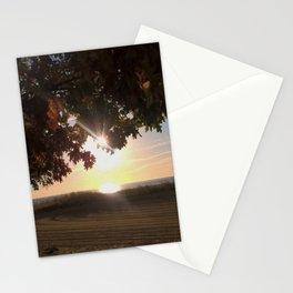 Nine Oclock Sunrise Kenosha Stationery Cards