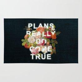 Plans Really Do Come True Rug