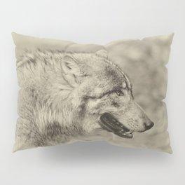 lonesome wolf Pillow Sham