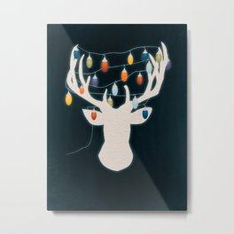 Strange Holidays Metal Print
