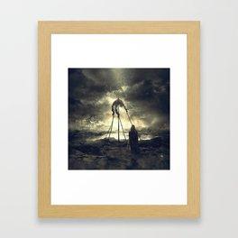 Background Circus Framed Art Print