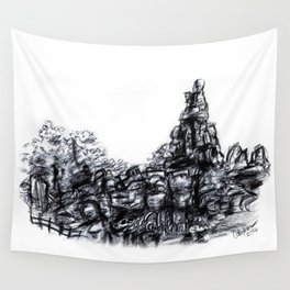 Big Thunder Mountain Wall Tapestry