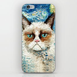 Grumpy Cat Is Still Grumpy iPhone Skin