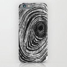 Tree Rings - Dark Slim Case iPhone 6s