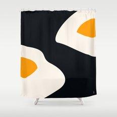 fried eggs Shower Curtain