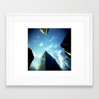 building Framed Art Prints featuring Building by Jacquie Fonseca