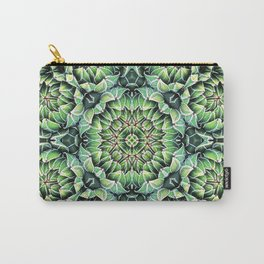 Succulent Splendor Three Carry-All Pouch