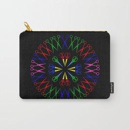 Scissors Design Carry-All Pouch