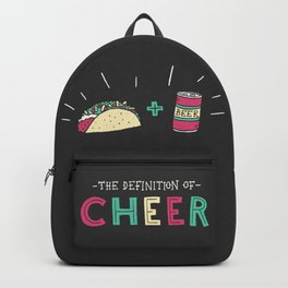 Tacos and Beer Backpack