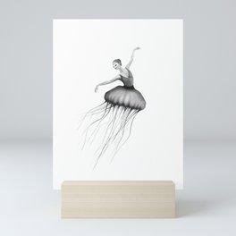 Jelly dancer Mini Art Print