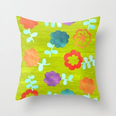 Daisy Dallop II Throw Pillow