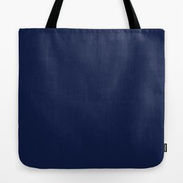 Navy Blue Minimalist Tote Bag