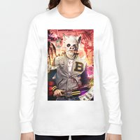 hotline miami Long Sleeve T-shirts featuring Night Out: Hotline Miami by GiancarloVargas