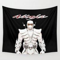 ninja Wall Tapestries featuring Ninja by Afaalstore