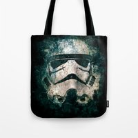 trooper Tote Bags featuring Trooper by Sirenphotos