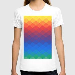 Polygonal Rainbow T-shirt