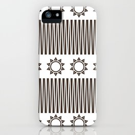 Illusion and Circles iPhone Case