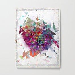 Techno Art by Nico Bielow Metal Print