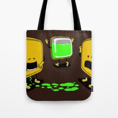 Radioactive Tupper Tote Bag