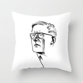 Shostakovich Throw Pillow