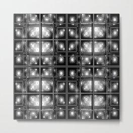 Skylight of Fireflies Metal Print