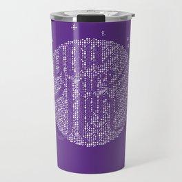 YOU ARE HERE [Funfetti Violet] Travel Mug