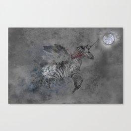 Safari moon Canvas Print