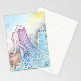 Fluid - MerMay 2018 Stationery Cards