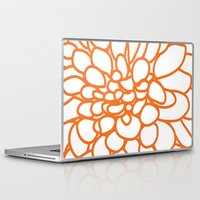 dahlia Laptop & iPad Skins featuring Dahlia by AleDan