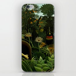 Henri Rousseau The Dream Painting iPhone Skin