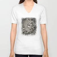 greek V-neck T-shirts featuring Greek goddess Gaia. by Viviana Gonzalez