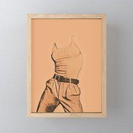 Les Beiges Vol. 1 Framed Mini Art Print