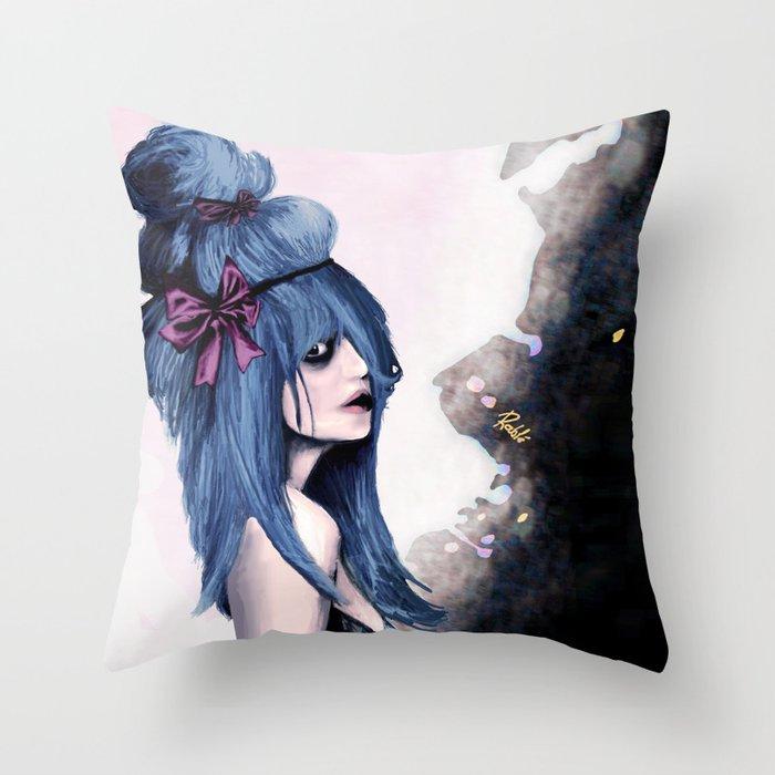Harajuku style Throw Pillow