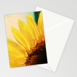 The Energy of Sunflower Stationery Cards
