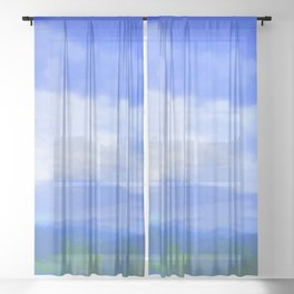 Landscape 2019 Sheer Curtain