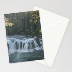 Lewis River Falls Stationery Cards