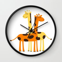 Guess What ! Wall Clock