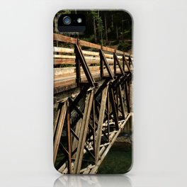 To Cross Again iPhone Case