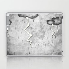 There's a storm a brewin Laptop & iPad Skin