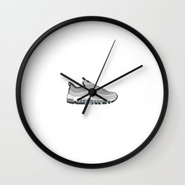 Air Max 97 - Silver Bullet Wall Clock