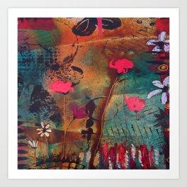 In The Garden #1 Art Print
