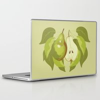 pear Laptop & iPad Skins featuring Pear by Marlene Pixley
