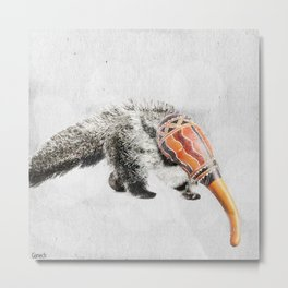 Anteater Maracas Metal Print
