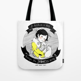 A Kitten a Day... Tote Bag