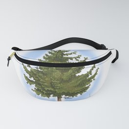 Picea tree Fanny Pack