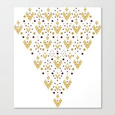 Geometric Diamond Canvas Print