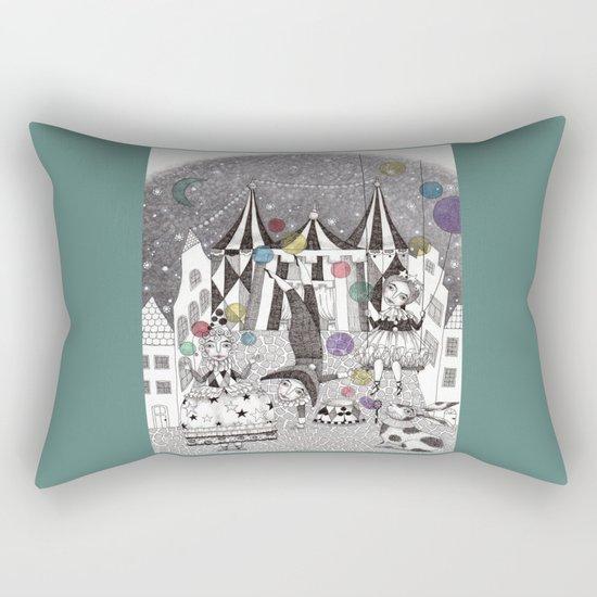 Night Carnival Rectangular Pillow