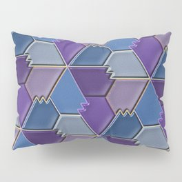 Blues & Purples Pillow Sham